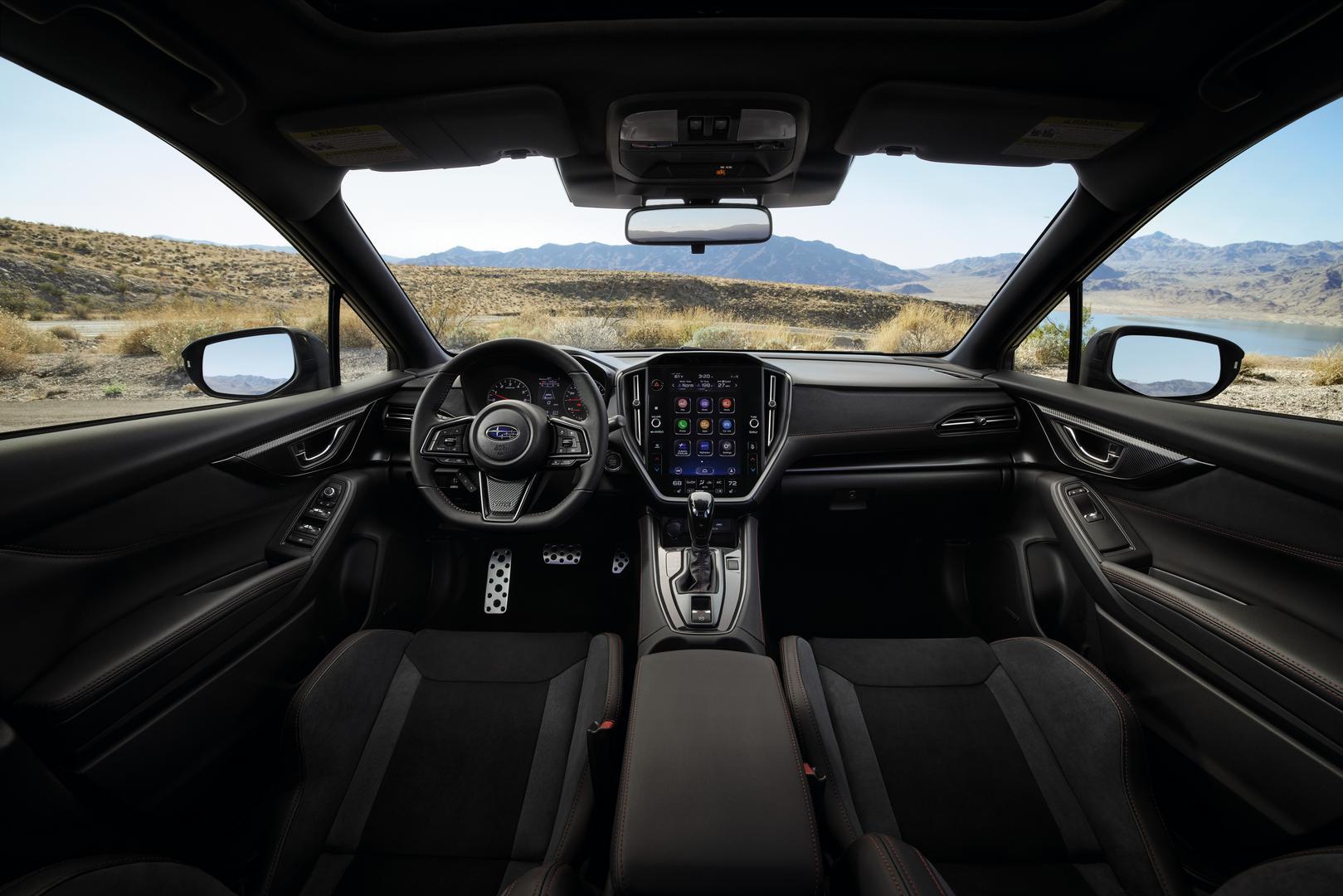 2022 Subaru WRX GT interior