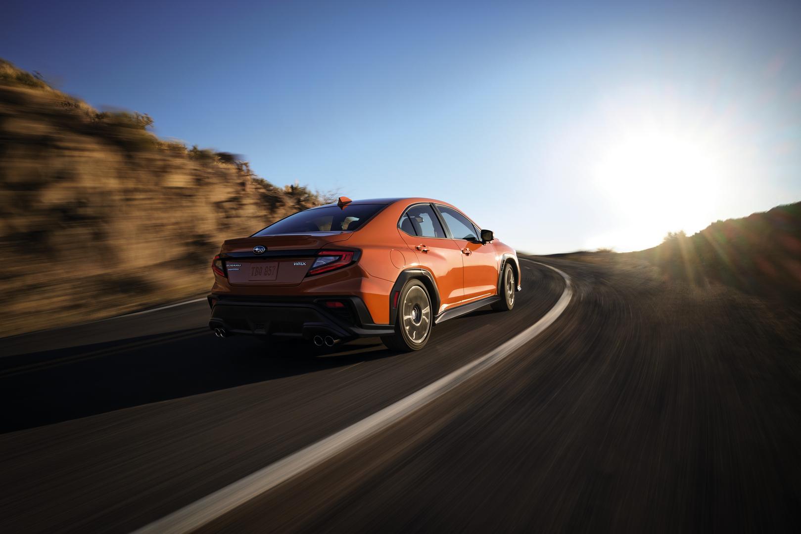 2022 Subaru WRX GT rear