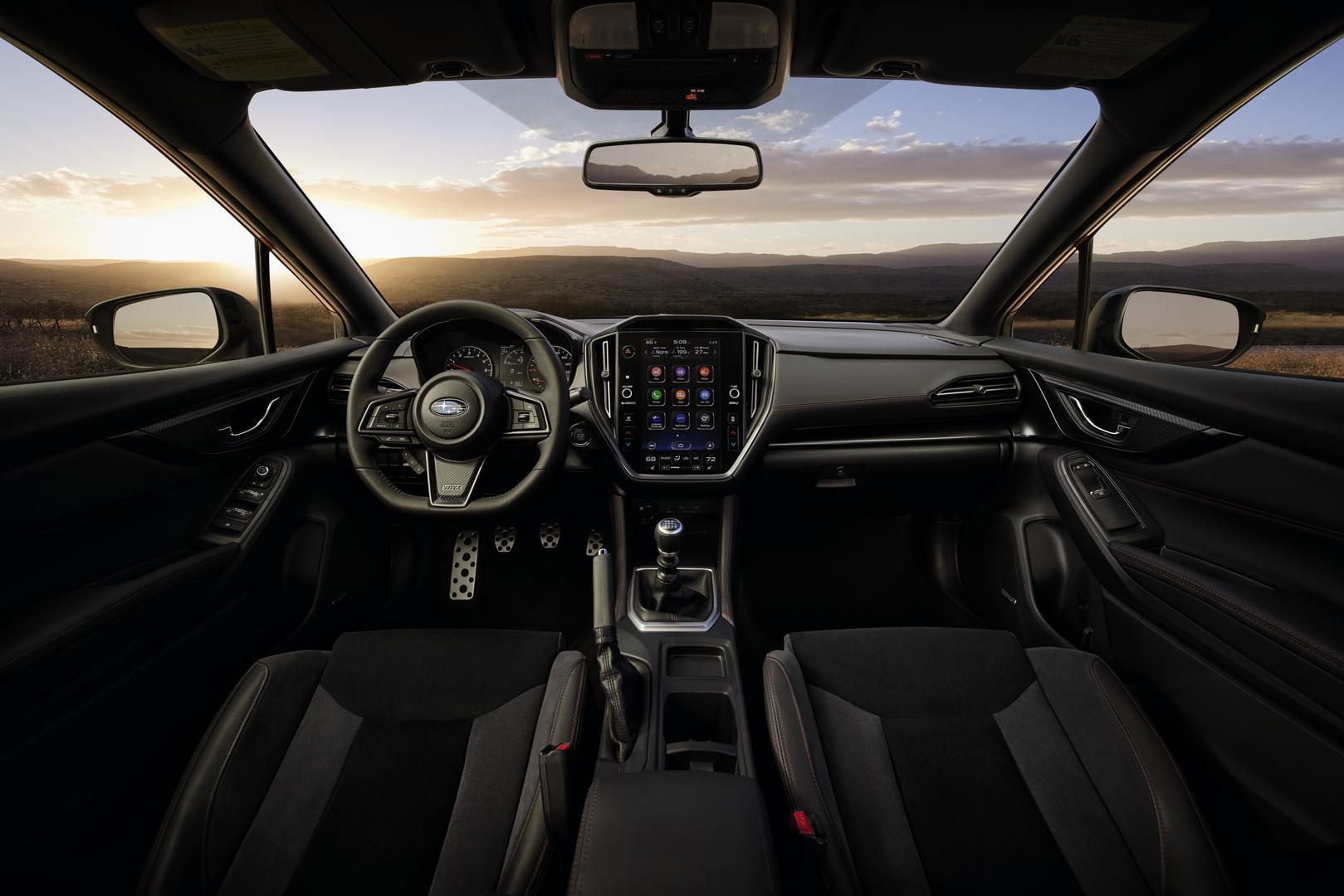 2022 Subaru WRX cabin