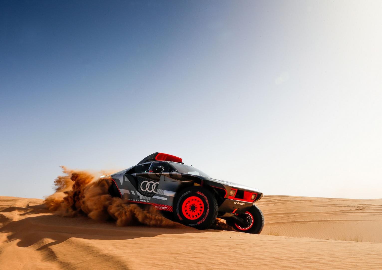Audi RS Q e-tron Morocco