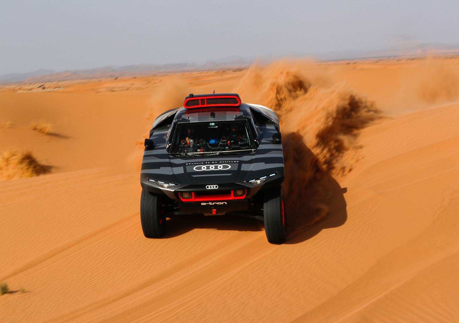 Audi RS Q e-tron Dakar