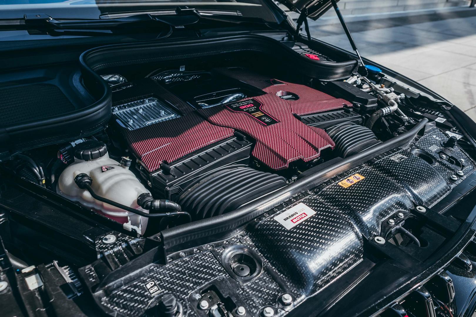 Brabus Rocket GLE 63 AMG engine