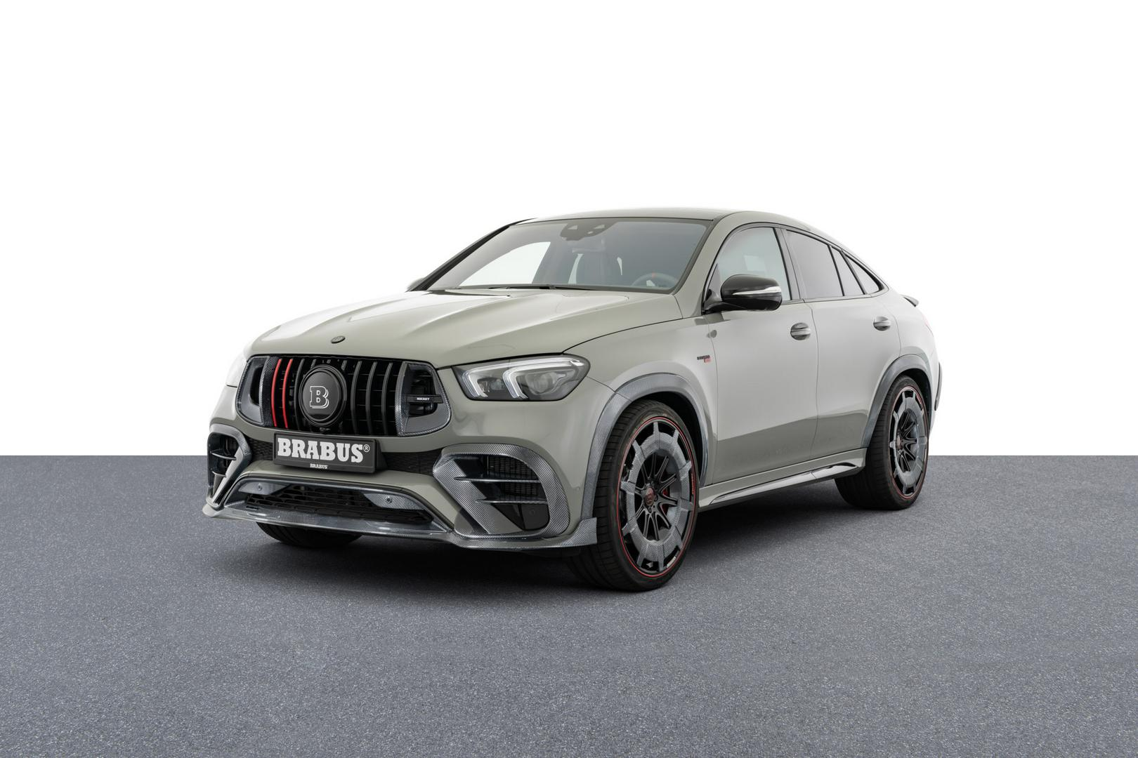Brabus 900 Rocket: The Most Expensive Mercedes GLE in the World