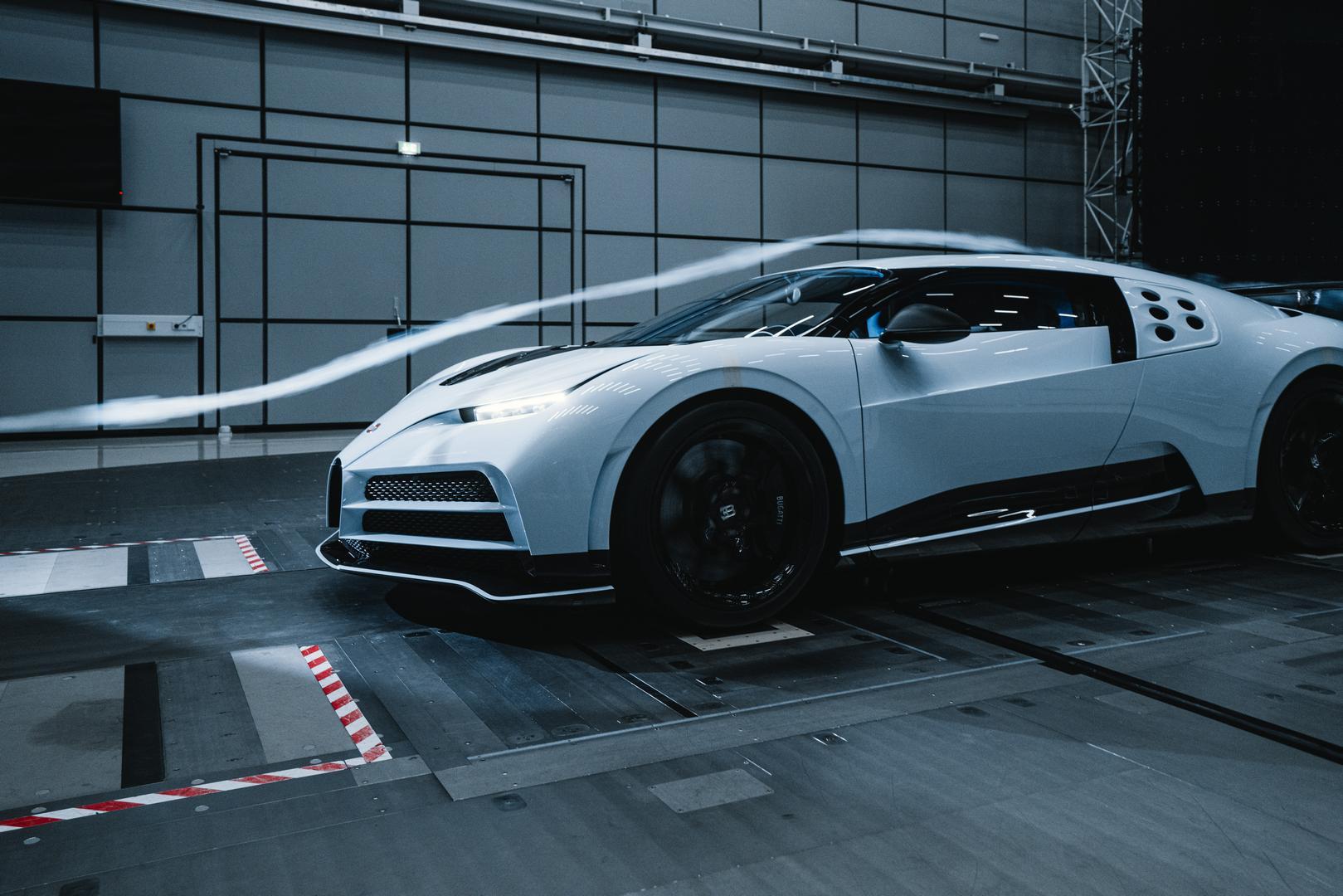 Bugatti Centodieci specs