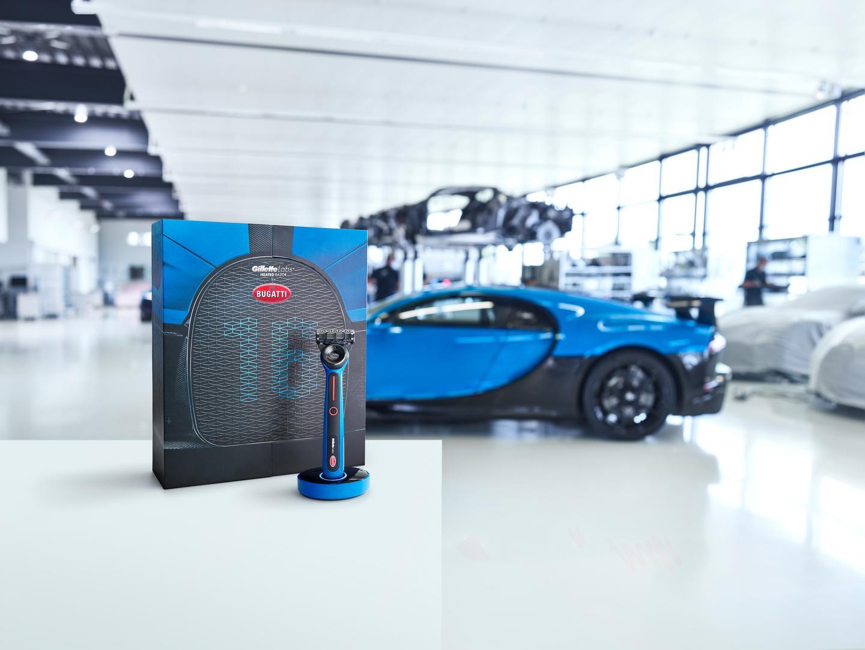 More Bugatti House Items: Meet the Bugatti Heated Razor by Gillette