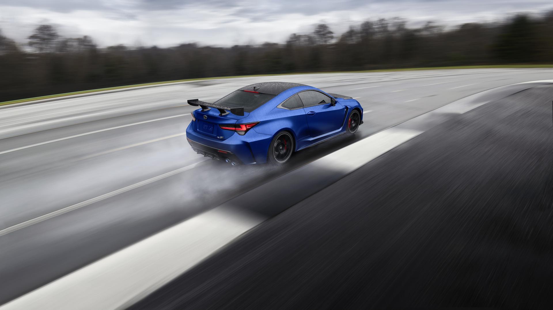Electric Blue RC F
