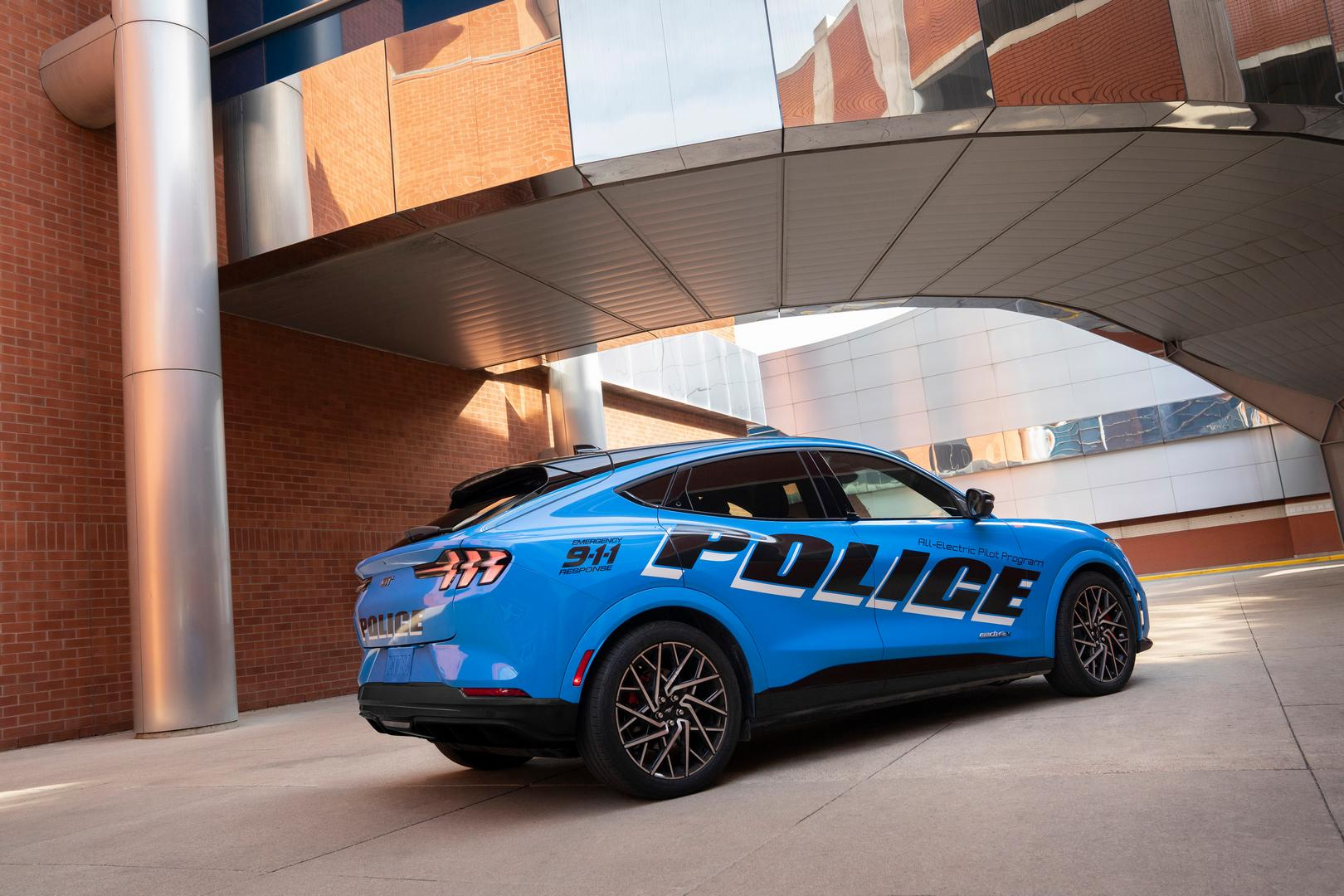 Ford Mustang Mach E Police specs