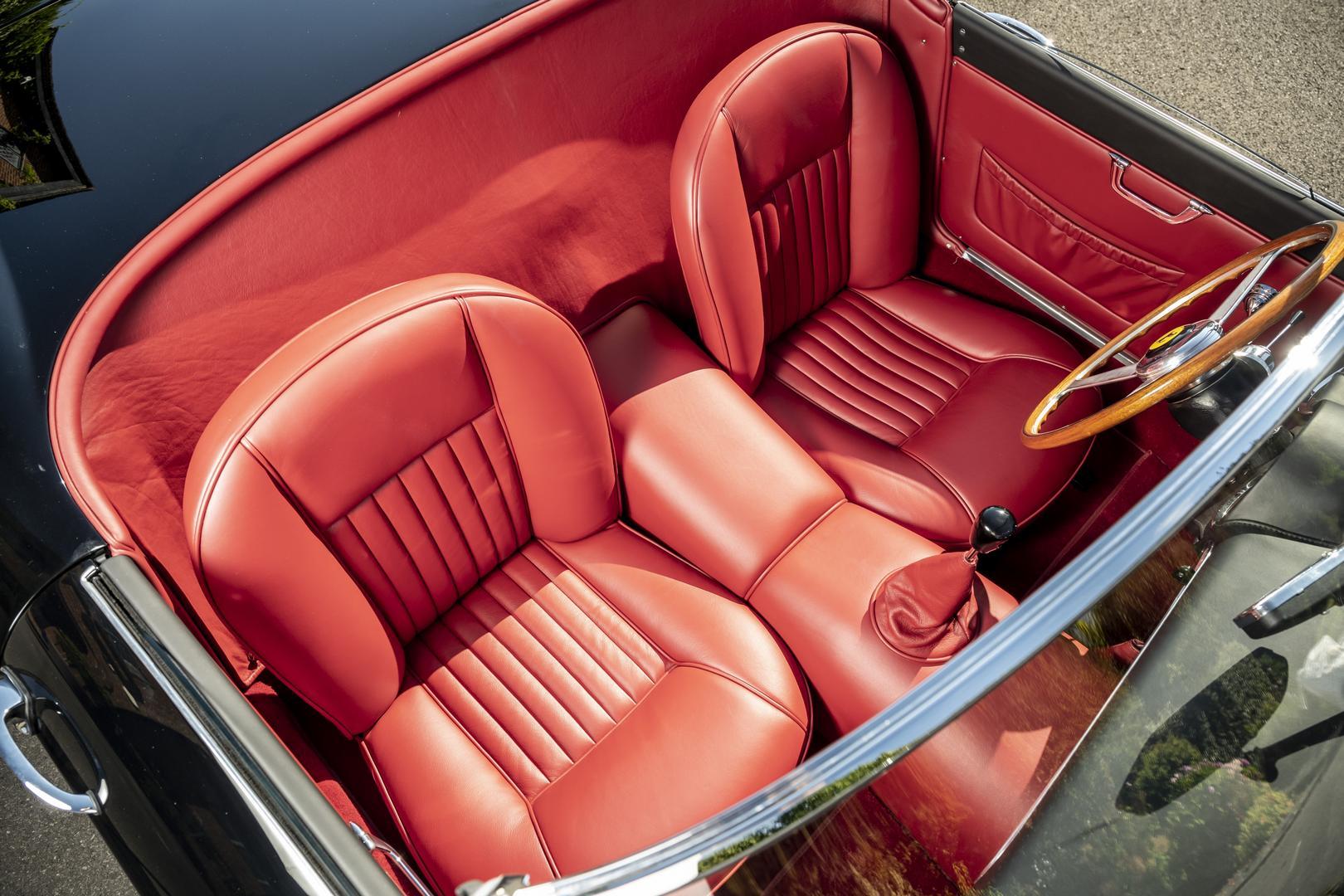 GTO Engineering California Spyder Revival seats