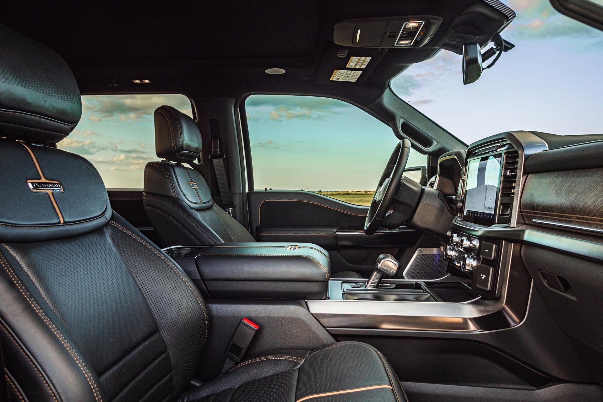 Hennessey Venom F150 interior