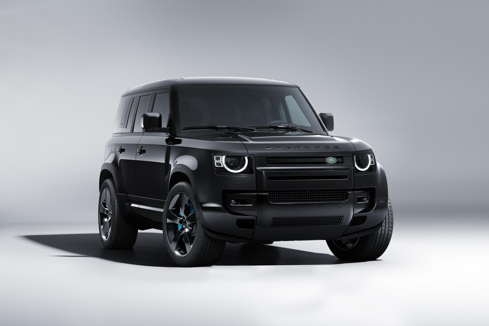 Land Rover Defender 90 V8 Bond Edition
