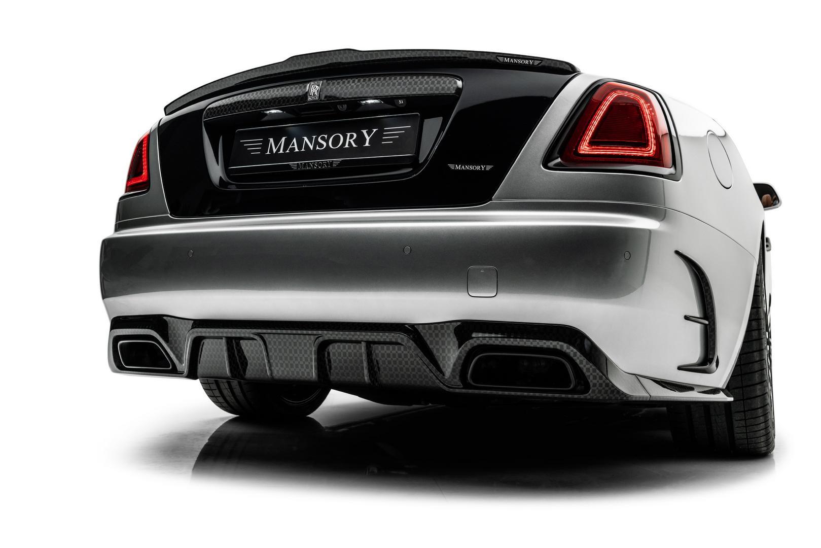 Mansory RR Dawn rear diffuser