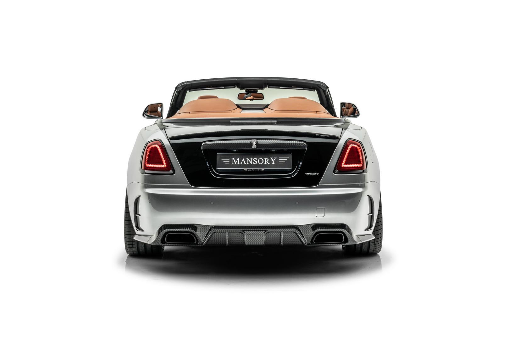 Mansory RR Dawn rear view