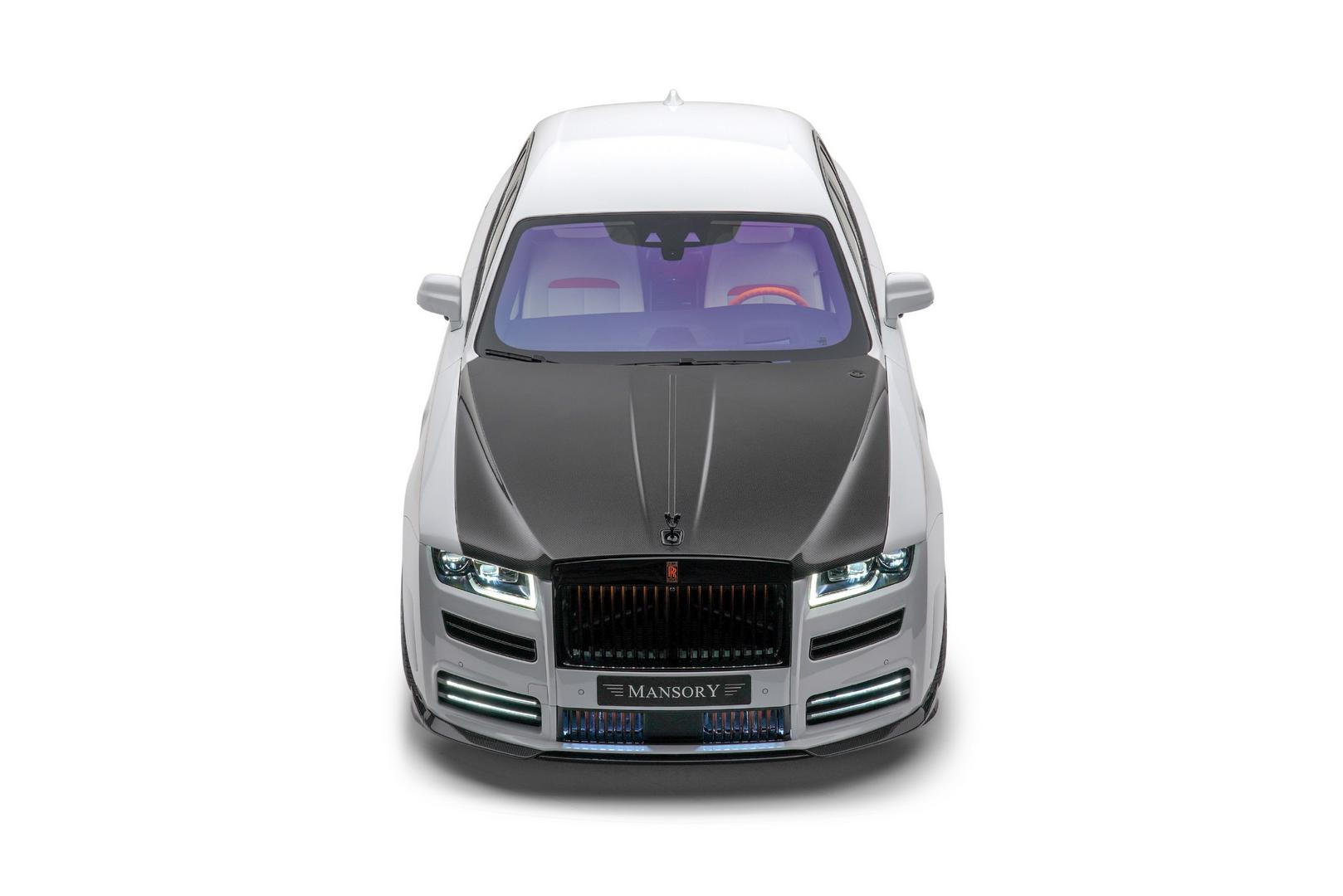Mansory RR Ghost front bumper