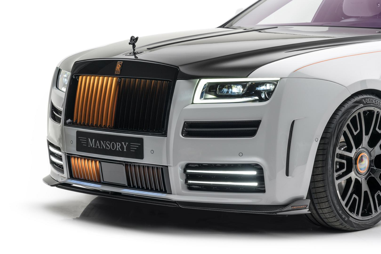 Mansory RR Ghost front lip