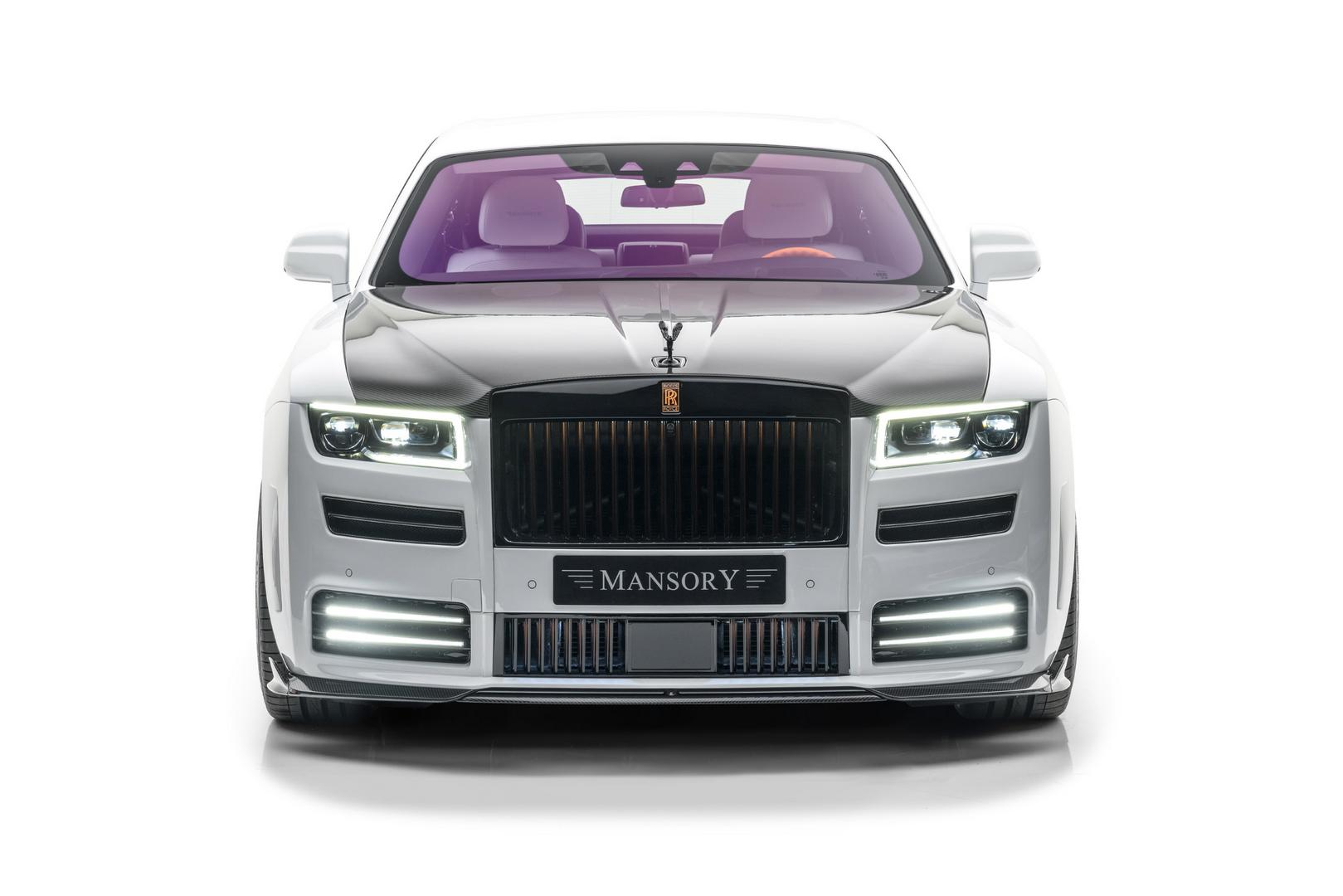 Mansory RR Ghost front