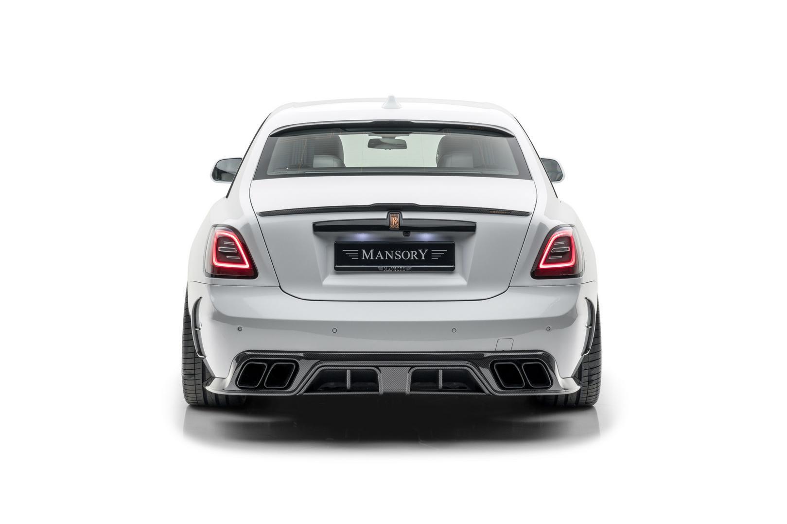 Mansory RR Ghost rear design