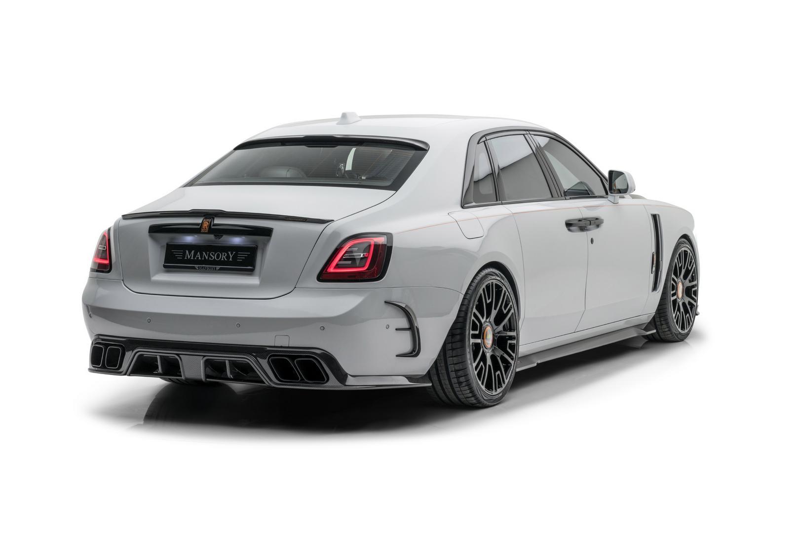 Mansory RR Ghost rear