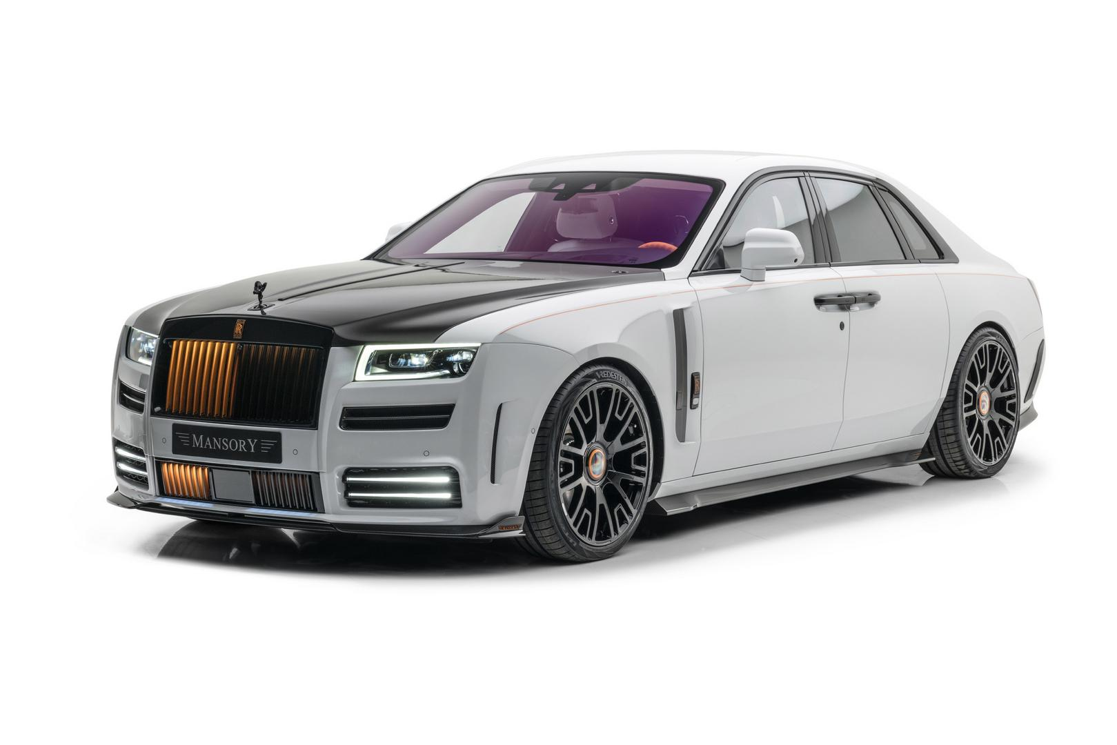 Mansory Shows Off their New Rolls-Royce Ghost Styling Kit – 720hp Now