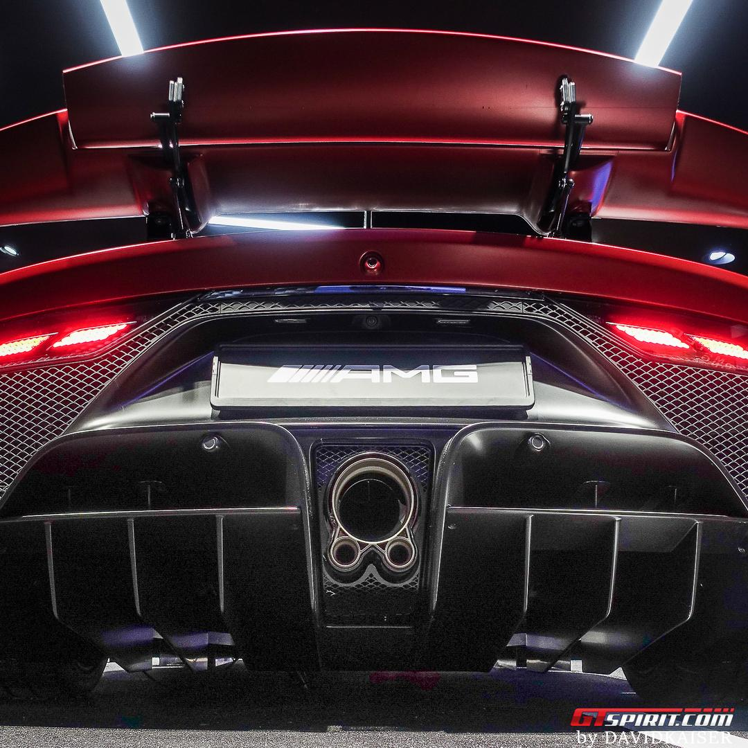 Mercedes-AMG One exhaust