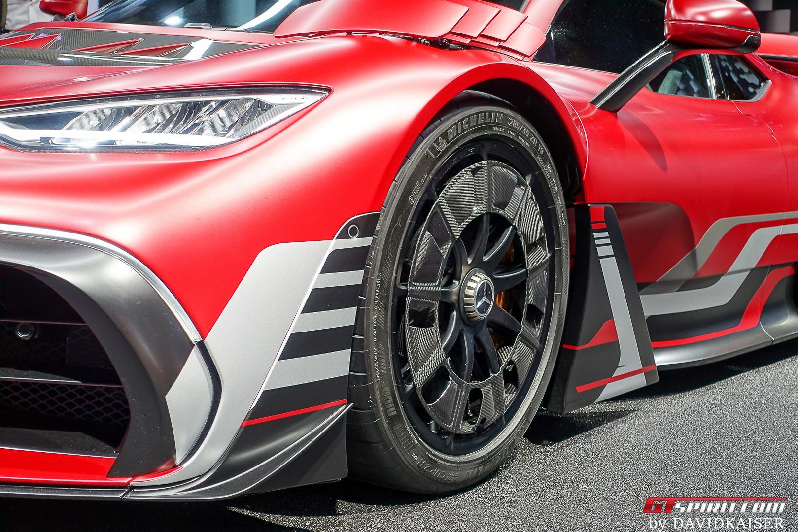 Mercedes-AMG One wheels