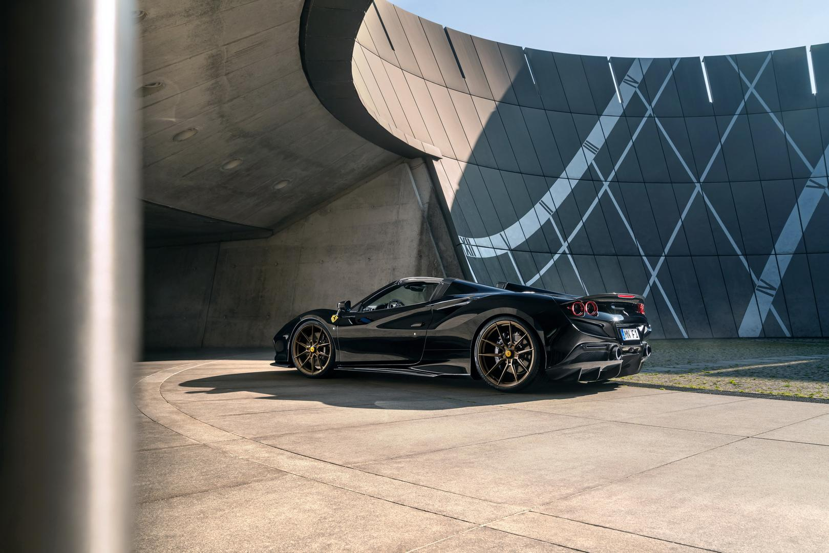 Novitec Ferrari F8 Spider black