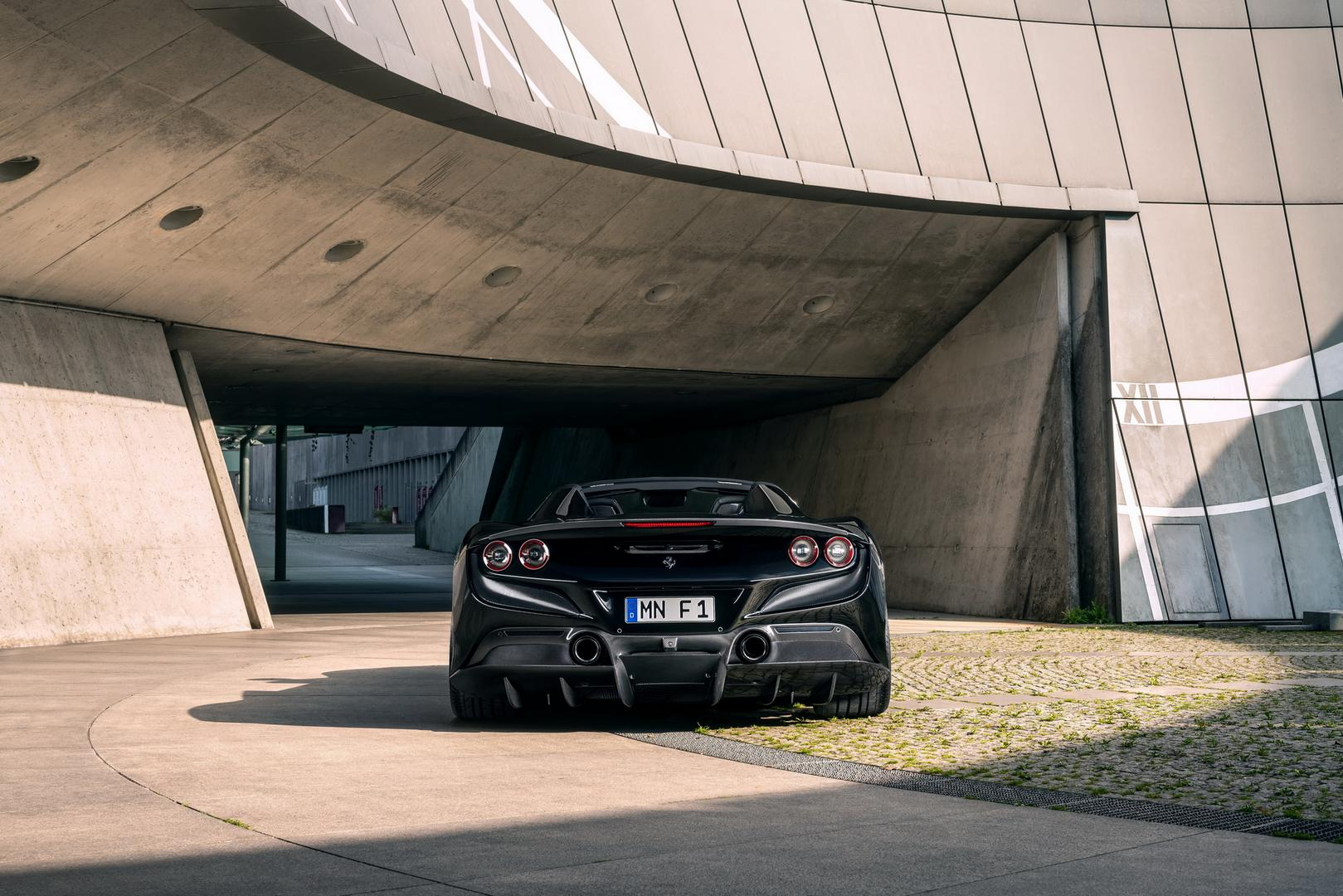 Novitec Ferrari F8 Spider rear view