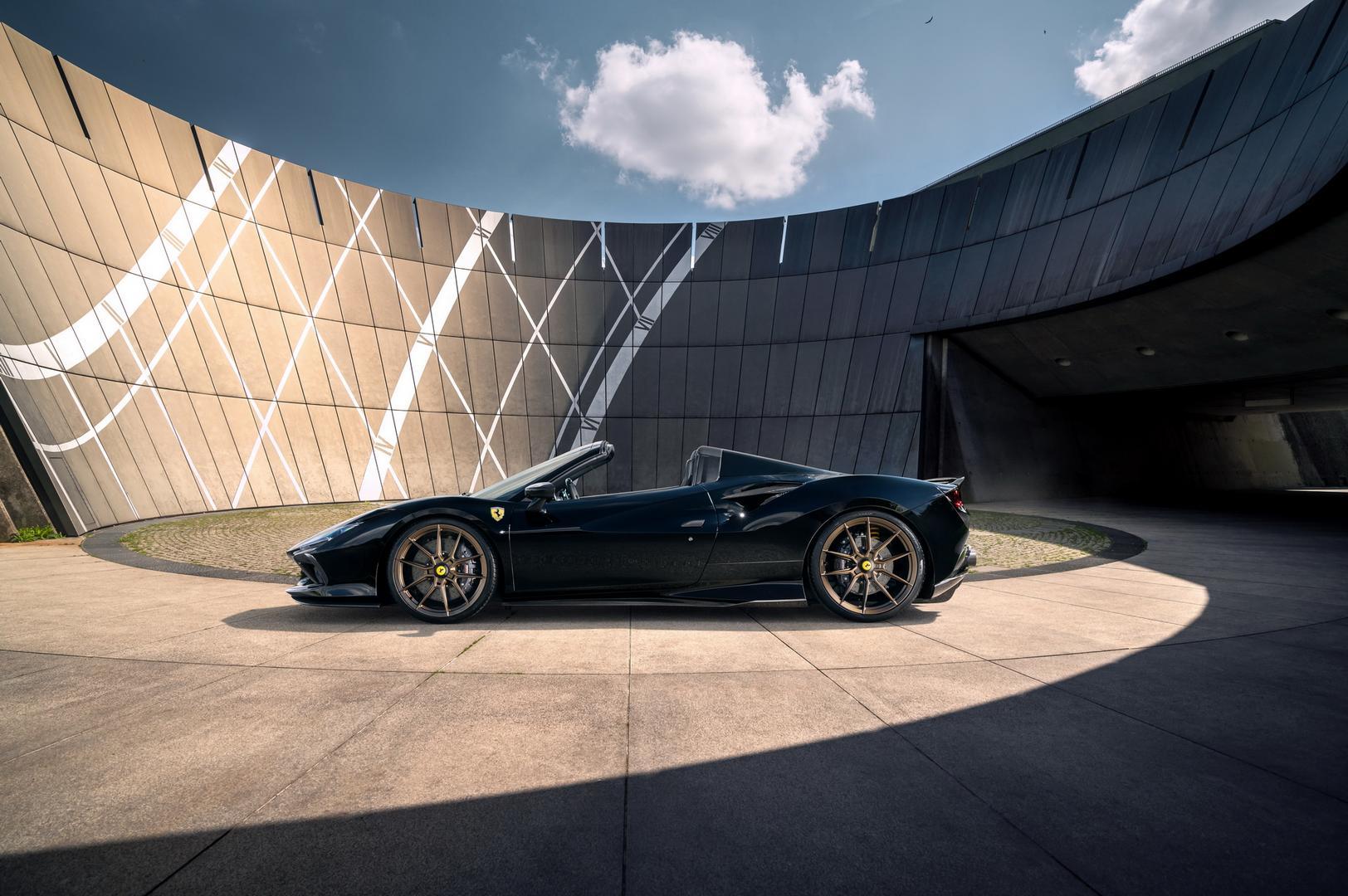 Novitec Ferrari F8 Spider side