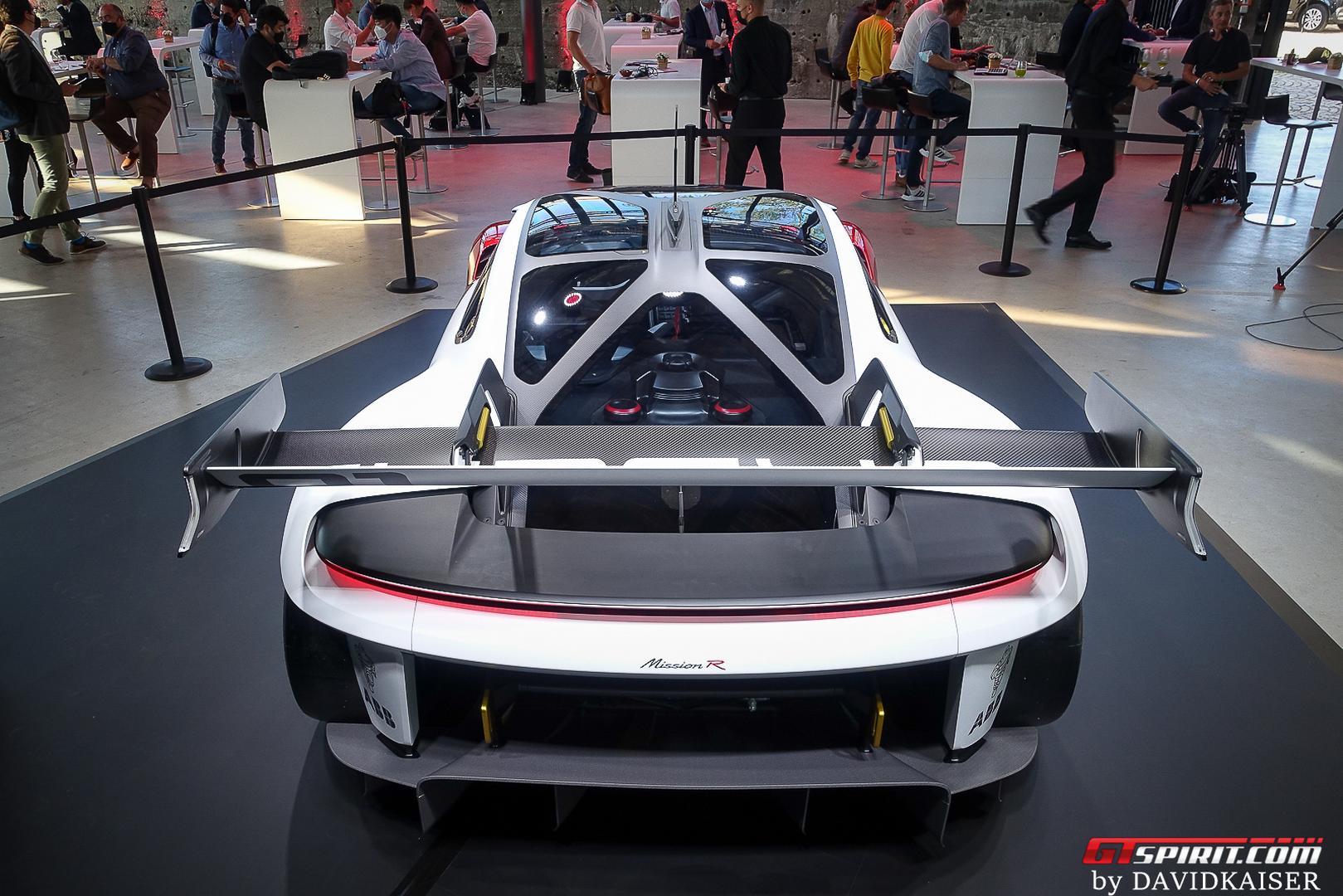 Porsche Mission R rear
