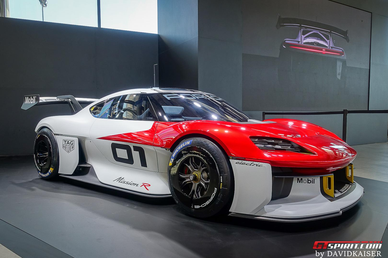 Porsche Mission R: The Future of Porsche GT Cars, Electric with 1000hp+