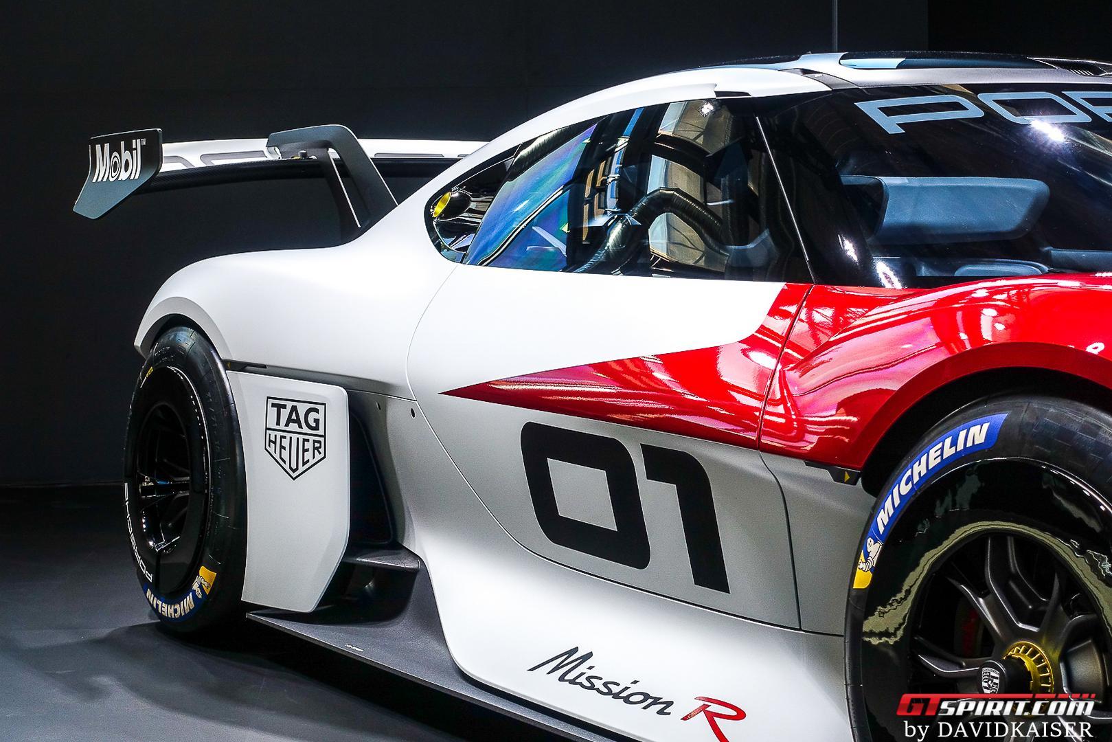 Porsche Mission R wheels