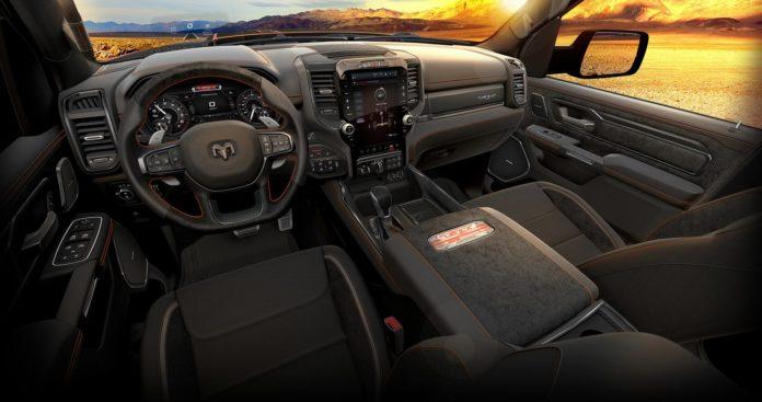 2022 Ram 1500 TRX Ingition Edition interior