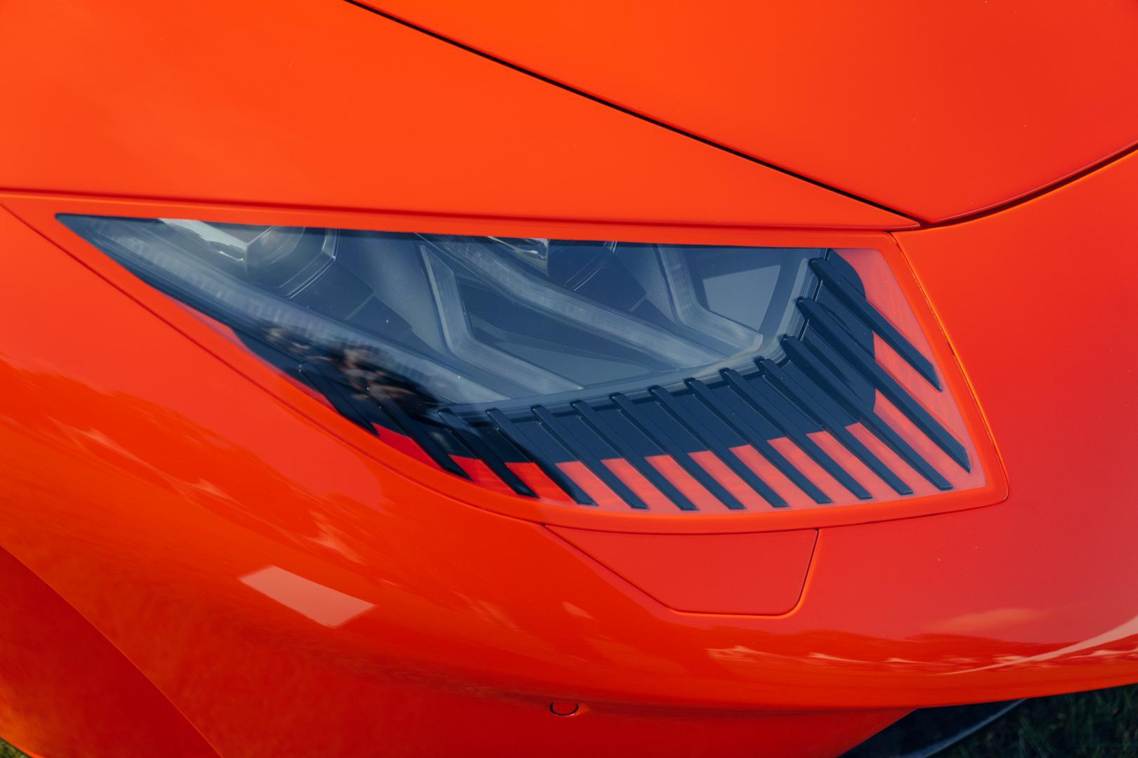 Rayo Huracan Twin-Turbo headlights