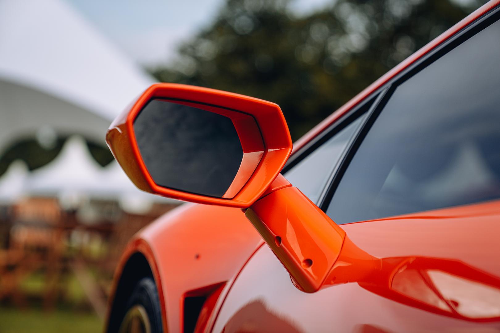 Rayo Huracan Twin-Turbo side mirror