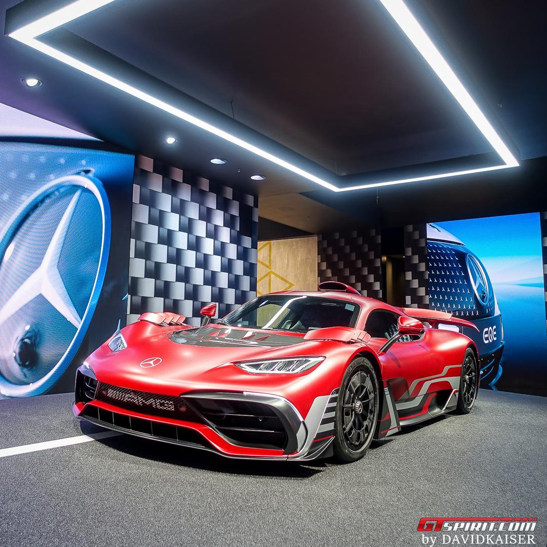 Red Mercedes-AMG One