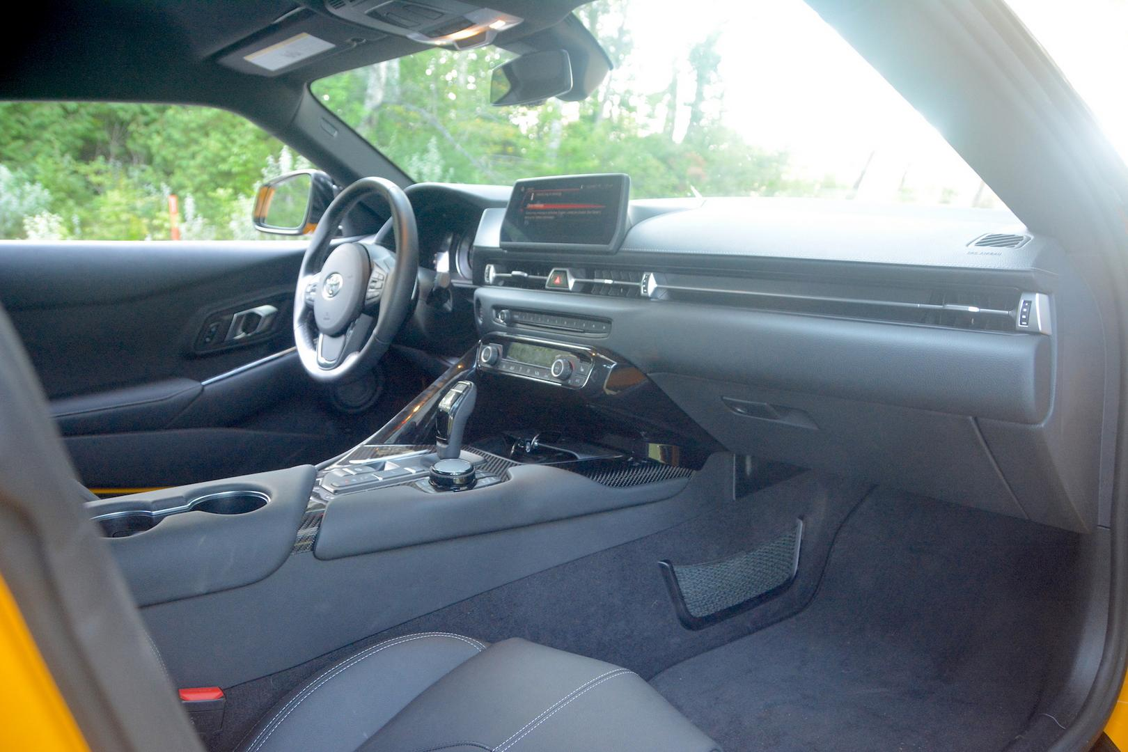 Toyota GR Supra cabin