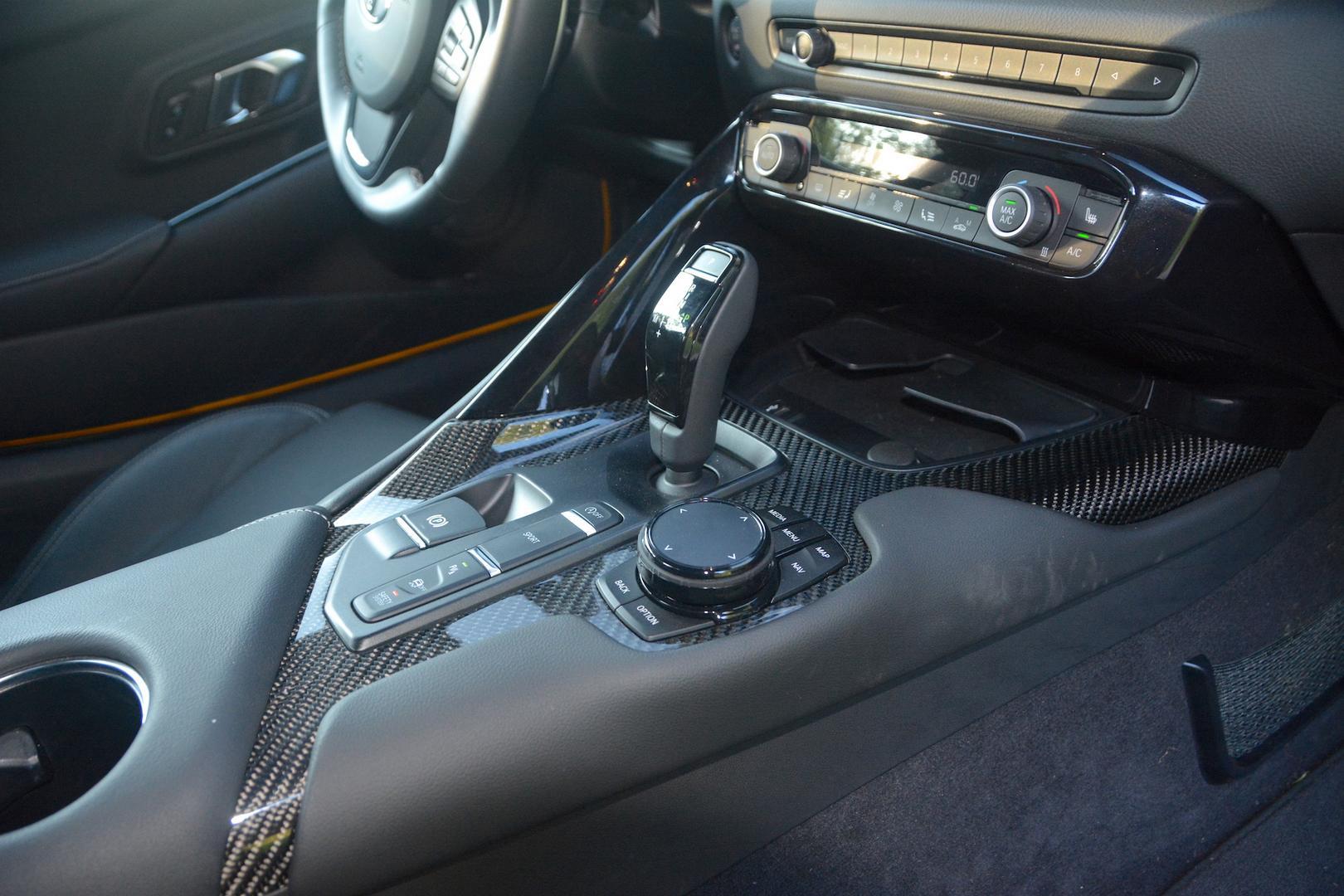 Toyota GR Supra carbon trim