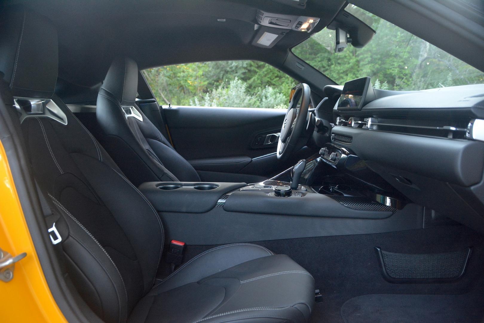 Toyota GR Supra cockpit