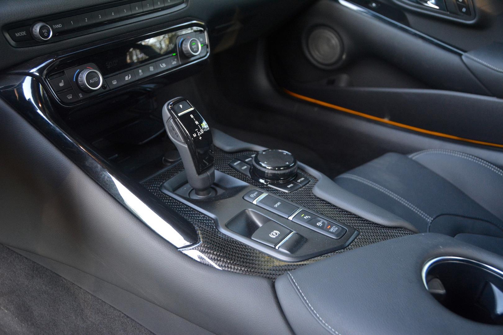 Toyota GR Supra gear lever