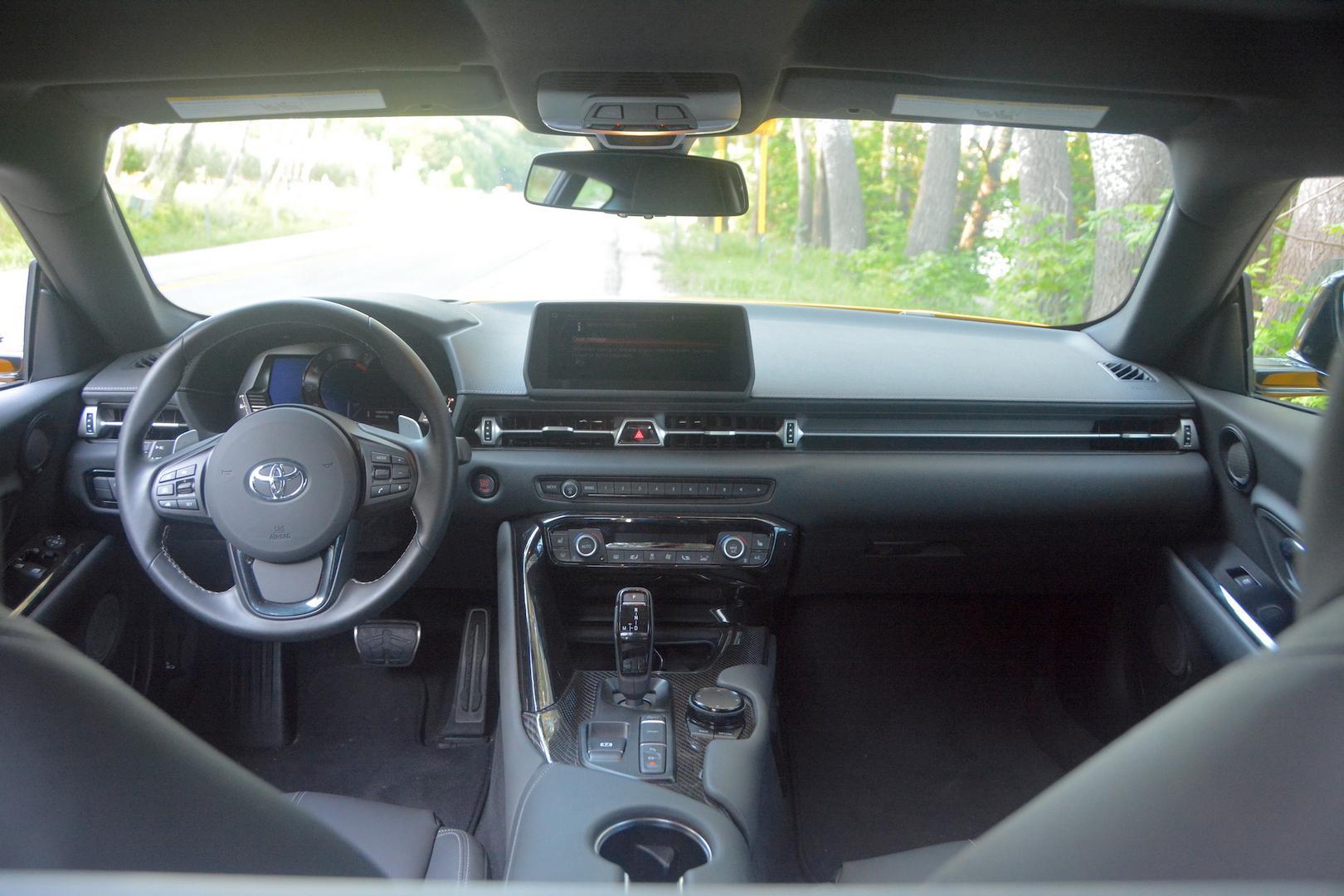 Toyota GR Supra interior