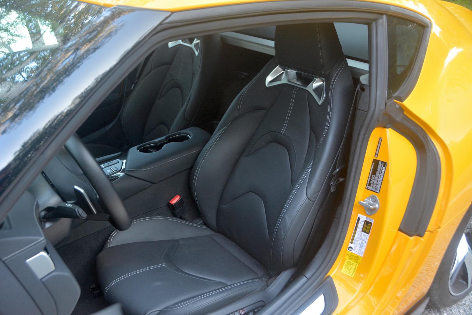 Toyota GR Supra seats