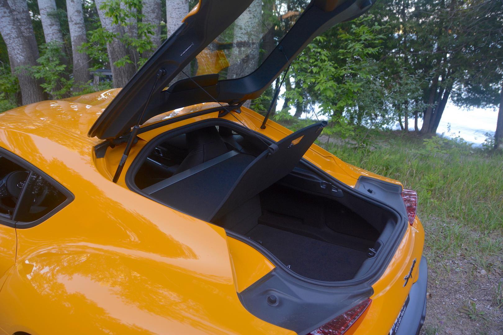 Toyota GR Supra trunk lid