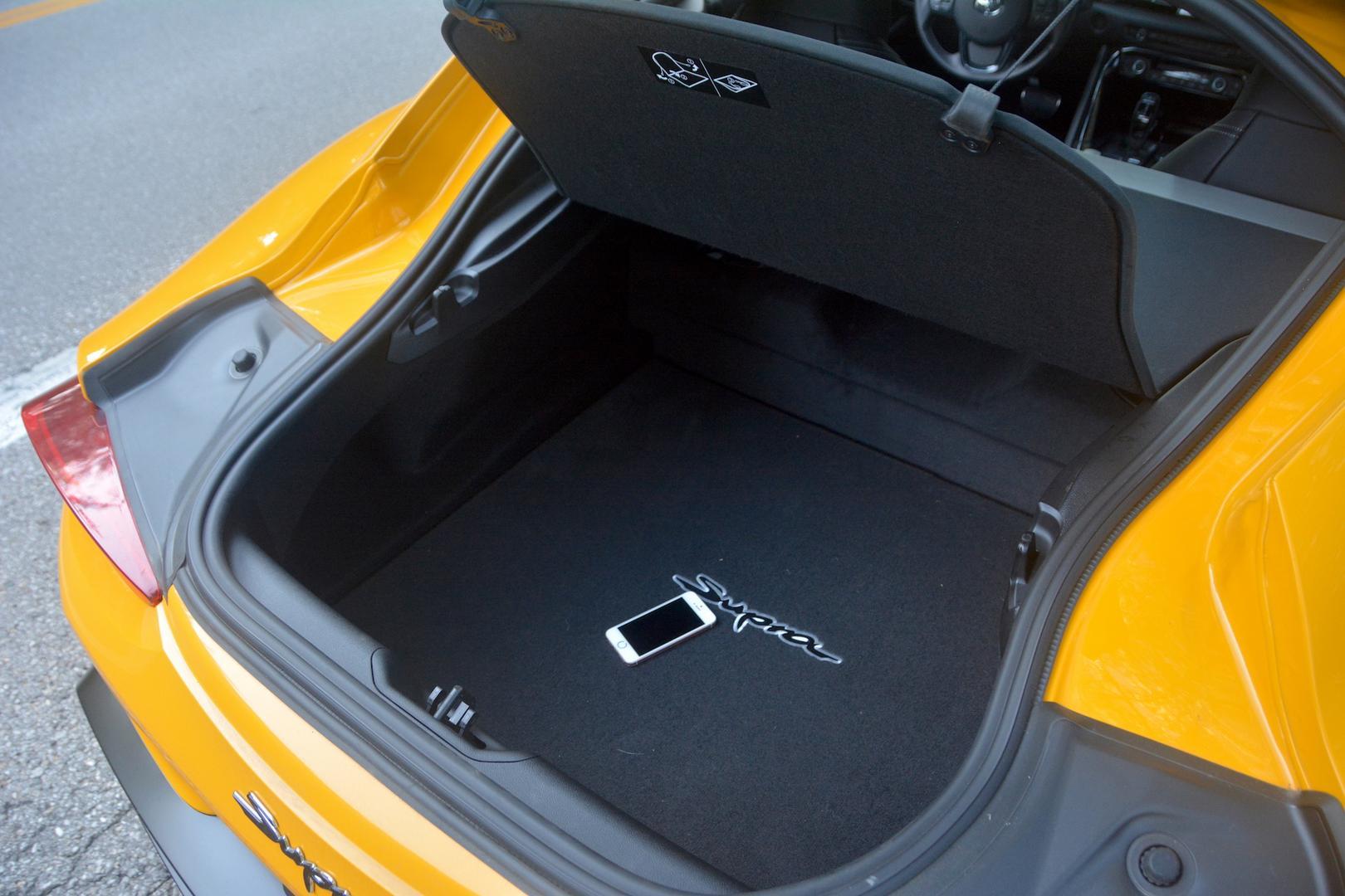 Toyota GR Supra trunk