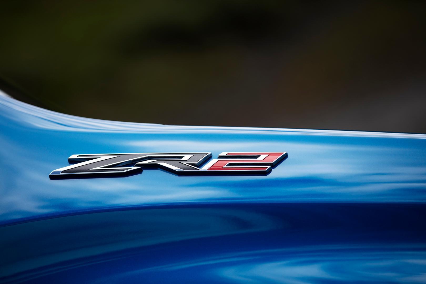 2022 Silverado ZR2 badge
