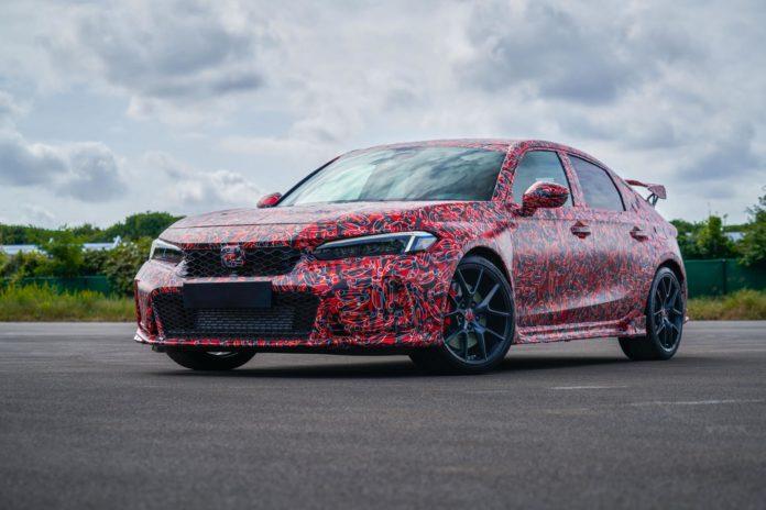 2023 Honda Civic Type R front