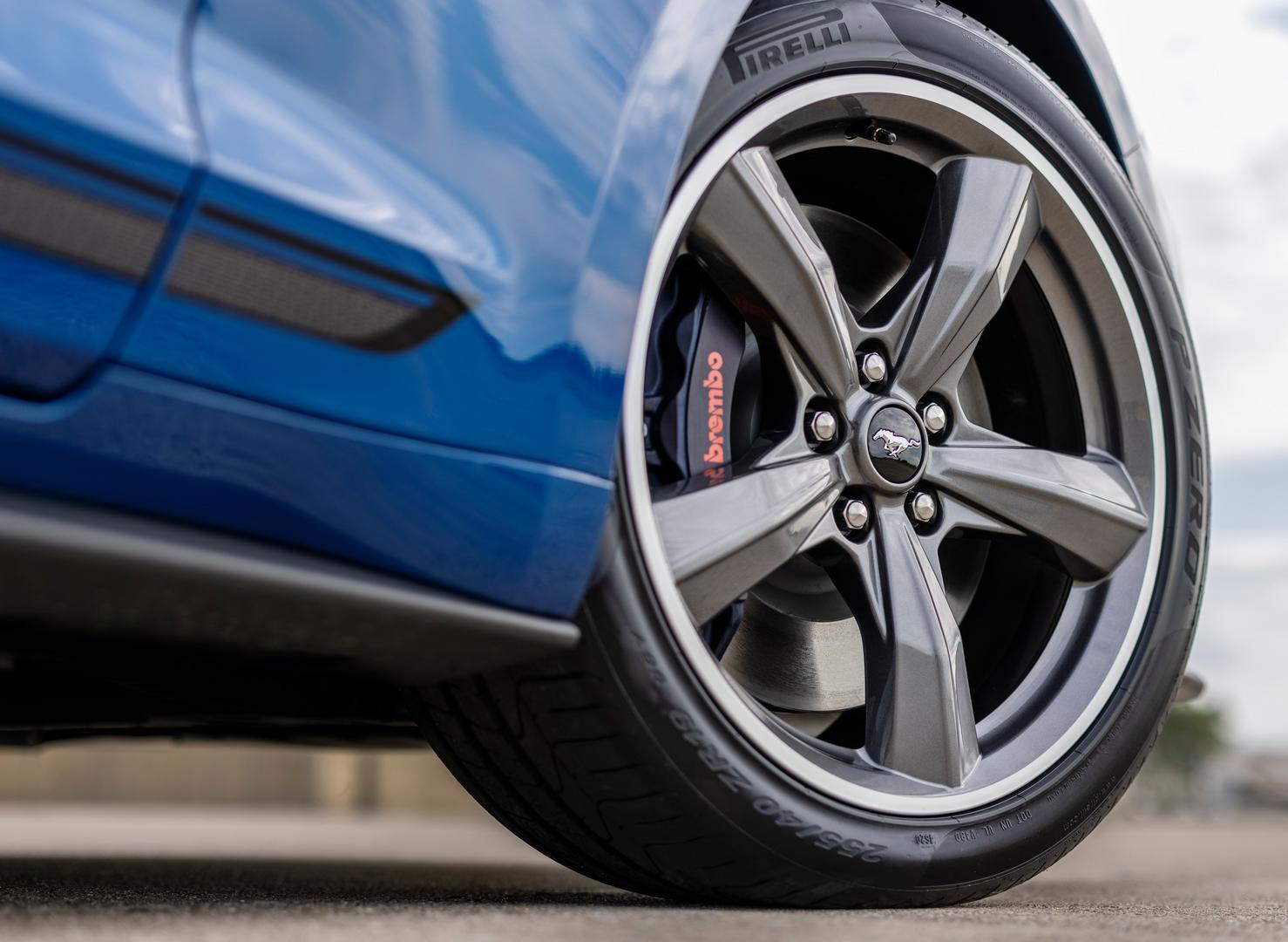 2022 Mustang GT Wheels