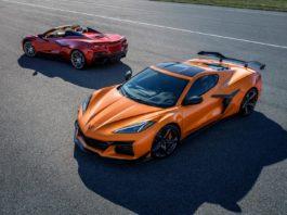 2023 Corvette Z06 orange