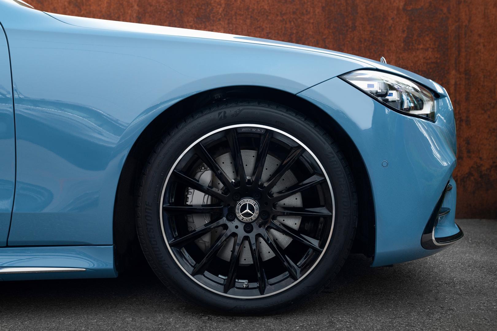 Mercedes-Benz S580 wheels