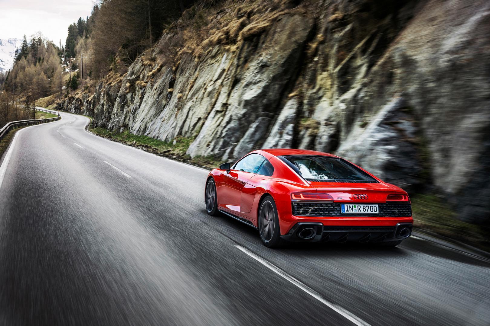 Audi R8 Coupé V10 performance