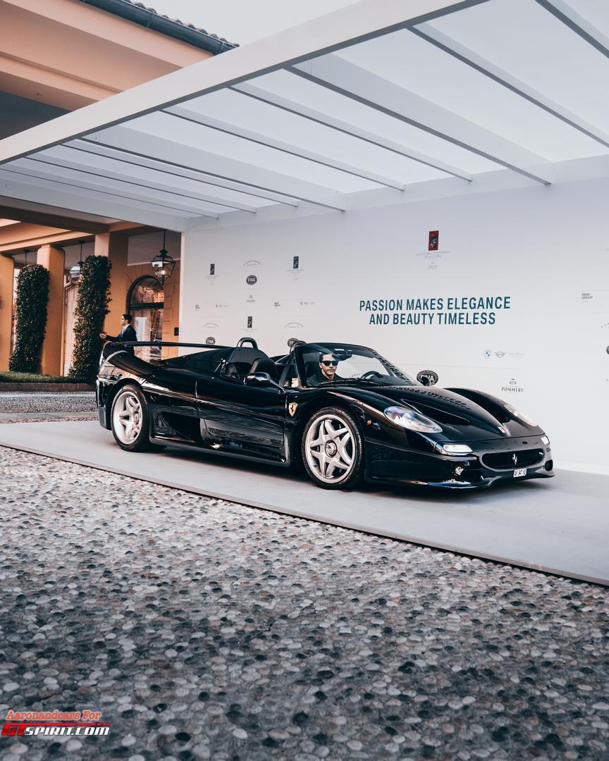 Black Ferrari F50