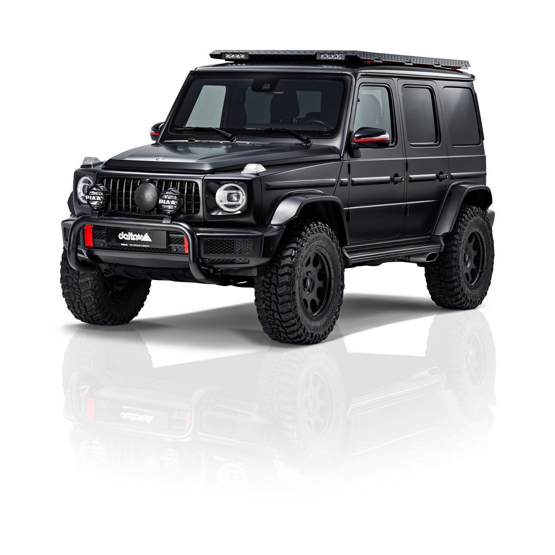 Black G-Wagon